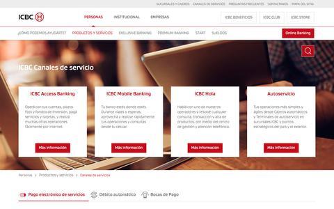 Canales de Servicio ICBC: Operá de manera simple y ágil