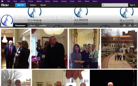 Screenshot of Flickr Page flickr.com - Flickr: Illinois Association of REALTORS®'s Photostream - captured Oct. 23, 2014