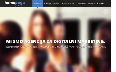 Homepage | agencija za kreativnu primenu digitalnih tehnologija