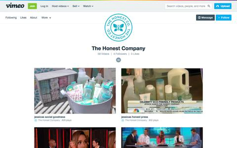 The Honest Company on Vimeo