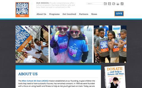 Screenshot of About Page asasohio.org - About Us – ASAS Ohio - captured Nov. 20, 2016