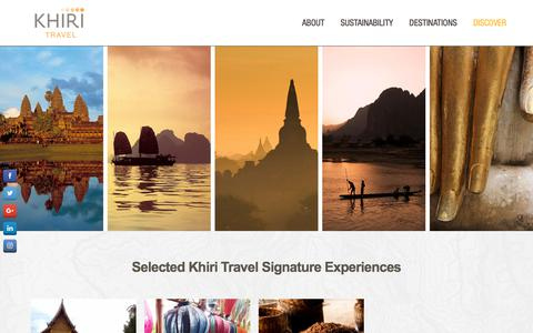 Screenshot of About Page khiri.com - About Khiri - Destination Management Company Southeast Asia - captured July 5, 2017
