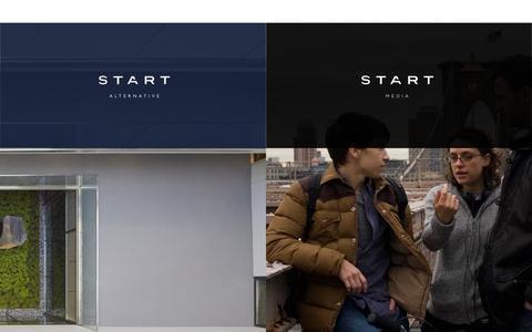 Screenshot of Home Page start-alternative.com - Start Media / Start Alternative - captured June 21, 2015