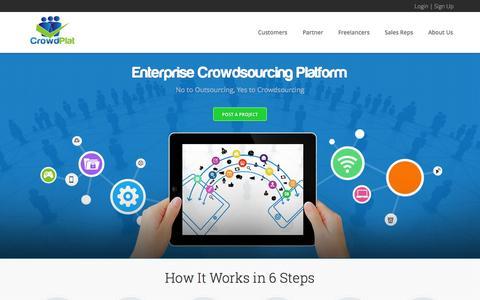 Screenshot of Developers Page crowdplat.com - CrowdPlat - captured Sept. 13, 2014
