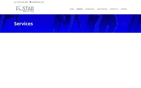 Screenshot of Services Page fostar.com - TELECOM AGENT - We make choosing business technology easy. - captured June 1, 2019