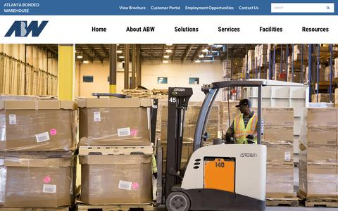 Screenshot of Team Page atlantabonded.com - Atlanta Bonded Warehouse Leadership | Third-Party Logistics (3PL) Provider - captured Oct. 4, 2018