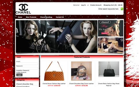Screenshot of Home Page bikedoctornyc.com - Chanel Designer Handbags USA,Buy Chanel Online - captured Sept. 13, 2015