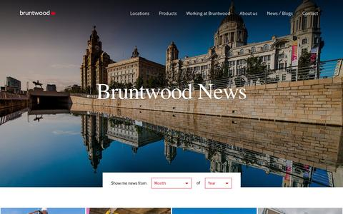 Screenshot of Press Page bruntwood.co.uk - News - Our buildings, our communities and our partnerships | Bruntwood - captured Aug. 4, 2018