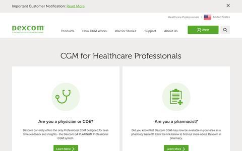 Healthcare Professional | Dexcom