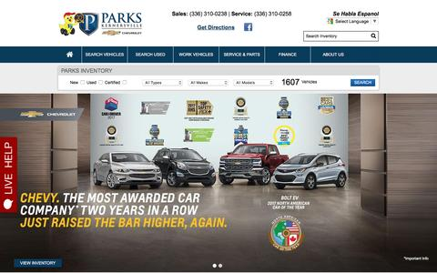 Parks Chevrolet Kernersville Nc >> Website Inspiration And Web Design Ideas Crayon
