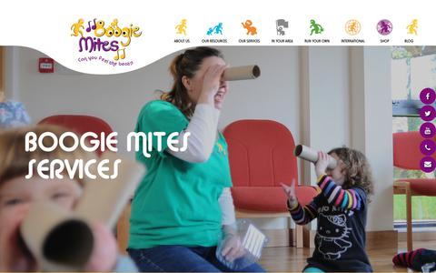 Screenshot of Case Studies Page boogiemites.co.uk - Early Years Music Training, Workshops, Courses and Parent classes - captured Aug. 3, 2018