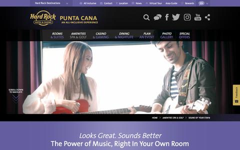 Sound of Your Stay - Exclusive Hard Rock Amenities in Punta Cana