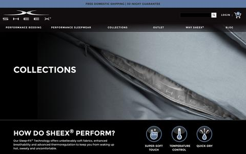 SHEEX® Performance Bed Sheets & Sleepwear - SHEEX® Official Store