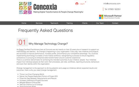 Low traffic Internet FAQ Pages on Wix | Website Inspiration
