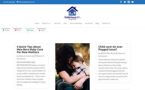 Screenshot of Blog safehaus-uk.co.uk - Blog - SafeHaus UK - captured Nov. 12, 2018