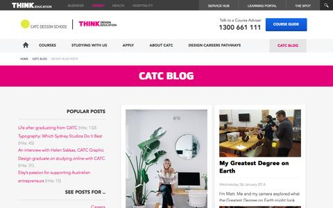 Screenshot of Blog catc.edu.au - CATC Blog - CATC Blog - captured May 24, 2016