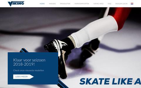 Screenshot of Home Page viking.nl - Home - Viking B.V. - captured Oct. 18, 2018