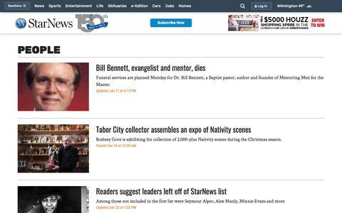 Screenshot of Team Page starnewsonline.com - People - Wilmington Star News - Wilmington, NC - Page 2 - captured Jan. 30, 2018