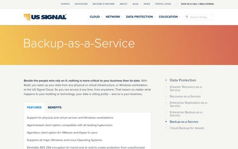 Backup-as-a-Service | US Signal