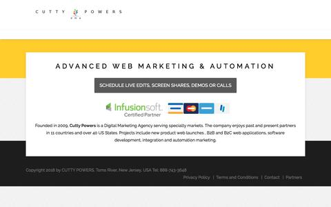 Cutty Powers | Digital Marketing Agency