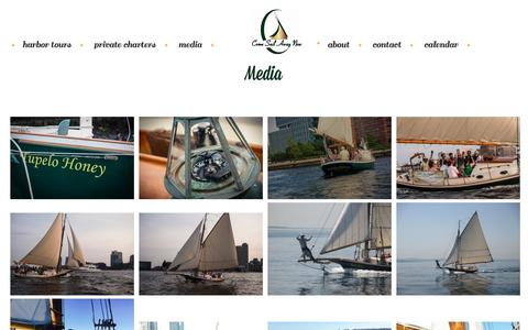 Screenshot of Press Page comesailawaynow.com - Media - Come Sail Away Now - captured July 8, 2016