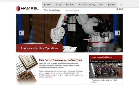 Plastics Manufacturer | Heavy Gauge Thermoforming | Hampel