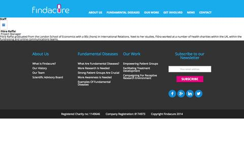 Screenshot of Team Page findacure.org.uk - The board | Findacure - captured Oct. 6, 2014