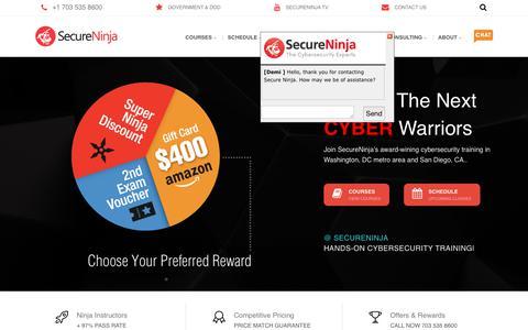 SecureNinja Cybersecurity Training & Certifications
