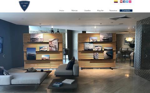 Screenshot of Contact Page elite-yachts.com - Contactos   Cartagena   Elite Yachts - captured Dec. 14, 2018
