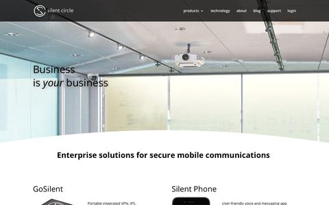 Silent Circle | Secure Enterprise Communication Solutions