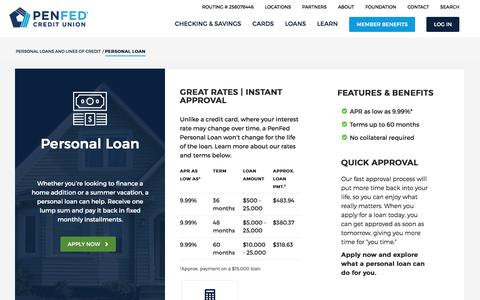Personal Loans From $50 - $25,000