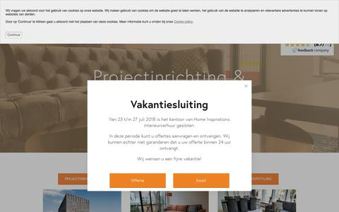 Screenshot of Home Page home-inspirations.nl - Home Inspirations - captured July 20, 2018