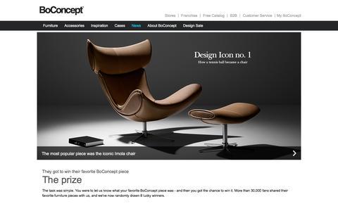 Screenshot of Press Page boconcept.com - Meet the winners - captured July 29, 2016