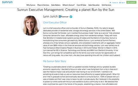Screenshot of Team Page sunrun.com - Sunrun solar executive team   Sunrun - captured March 21, 2019