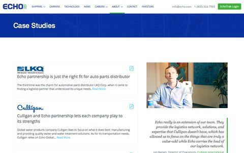 Case Studies - Echo.com