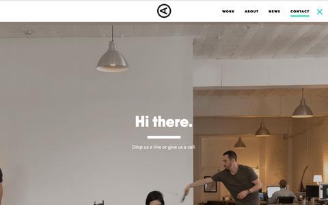 Screenshot of Contact Page actualsize.com - Contact – Actual Size - captured Oct. 3, 2018