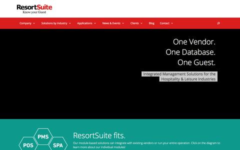 ResortSuite - Know Your Guest
