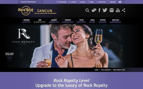 Rock Royalty Level | Hard Rock Hotel Cancun