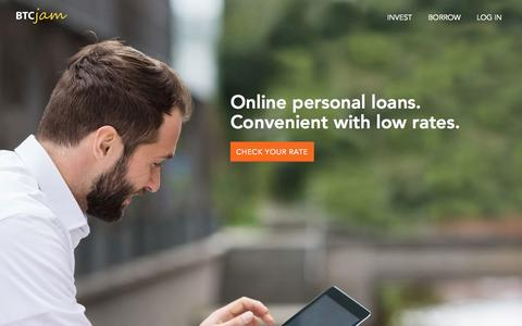Personal Loans and Investing - Peer to Peer Bitcoin Lending - BTCJam