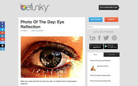 Screenshot of Blog befunky.com - blog.BeFunky.com | The best photo editing app in the history of the world. Ever. - captured Sept. 13, 2014