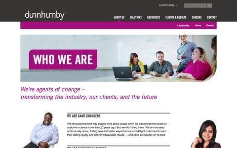dunnhumby: The Leading Customer Science Company