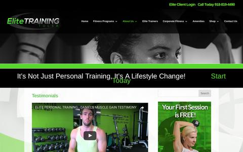 Elite Training Tulsa | Testimonials | Elite Training