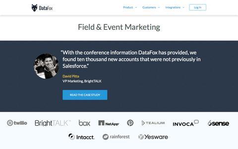 DataFox for Event Marketing
