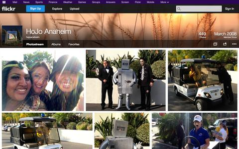 Screenshot of Flickr Page flickr.com - Flickr: hojoanaheim's Photostream - captured Oct. 22, 2014