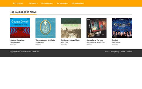Screenshot of Press Page afterschoolsolutions.org - Top Audiobooks News Equals Books and AudioBooks - captured Nov. 6, 2018