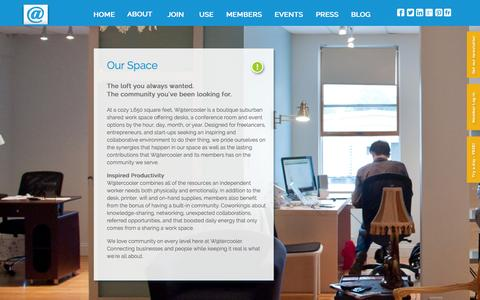 Screenshot of About Page watercoolerhub.com - W@tercooler, collaborative environment! - captured Oct. 27, 2014