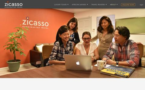 Screenshot of Jobs Page zicasso.com - Zicasso Jobs | San Francisco Bay Area Travel Jobs | Travel Agents & Tour Operator - captured Jan. 10, 2016