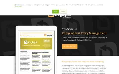 Screenshot of Team Page lockpath.com - Compliance and Policy Management - Lockpath.com - captured Dec. 12, 2019