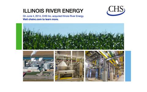 Screenshot of Home Page illinoisriverenergy.com - CHS acquires Illinois River Energy - captured Sept. 30, 2014