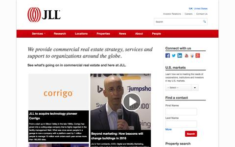 Commercial real estate | JLL | Jones Lang LaSalle